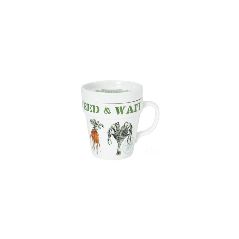Comprar taza con tapa colecci n gardeners de dise o for Tazas de te con tapa