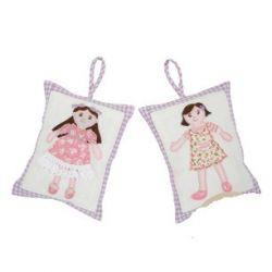 juego de dos almohadillas infantiles perfumadas av