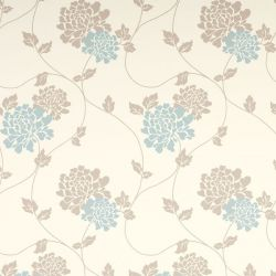papel pintado isodore azul verdoso trufa