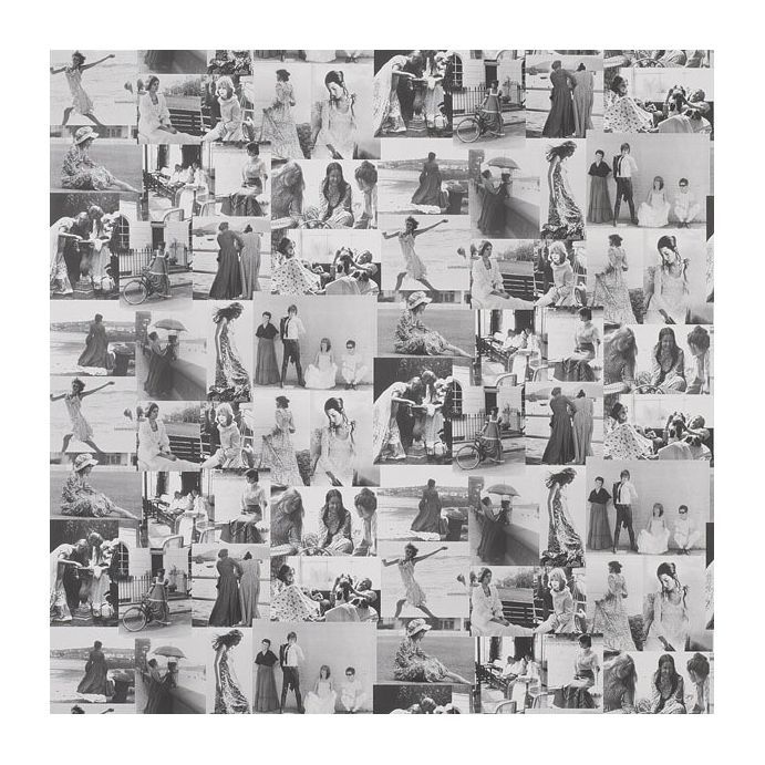 papel pintado pimlico blanco negro
