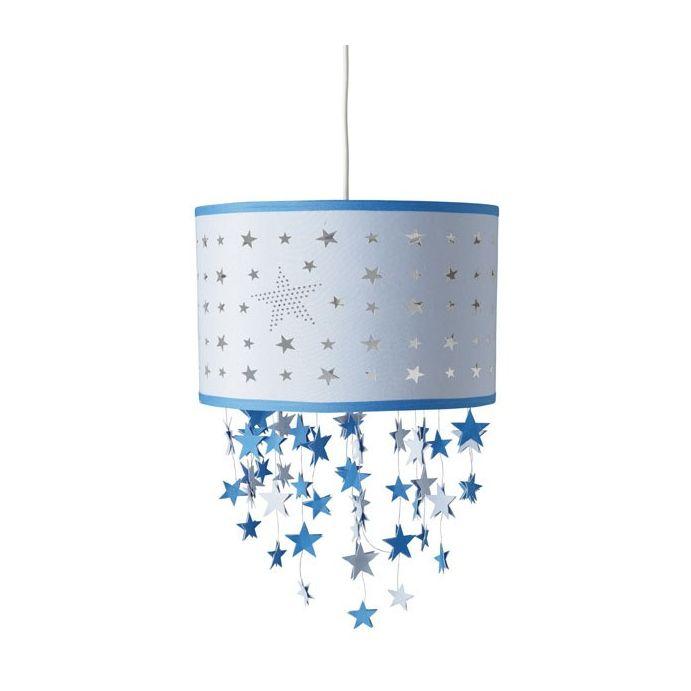 pantalla de techo colgante stars azul