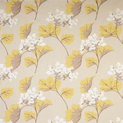 tejido de lino estampado millwood camomila