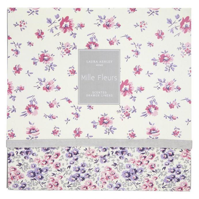 6 x papel perfumado mille fleur