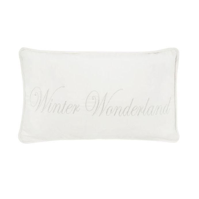 cojín crema winter wonderland