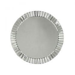 espejo redondo de marco biselado de diseño