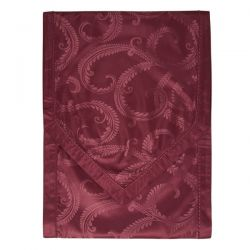 camino de mesa en jacquard rojo marchmont