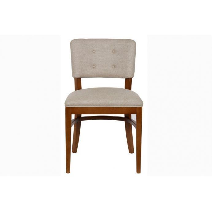 silla de comedor tapizada carron madera color robl