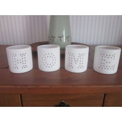 conjunto cuatro vasos home luminosos