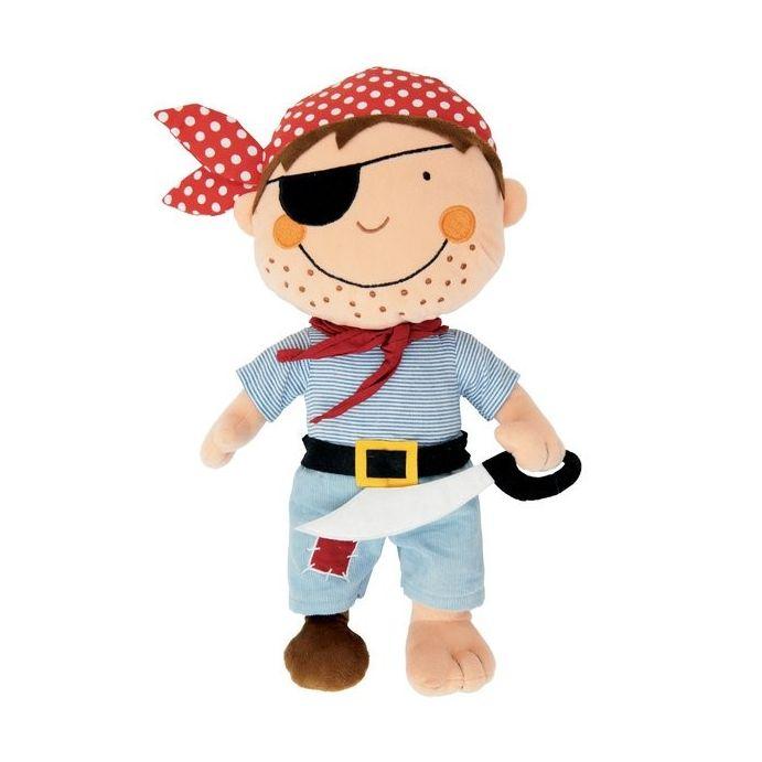 muñeco blandito pirata