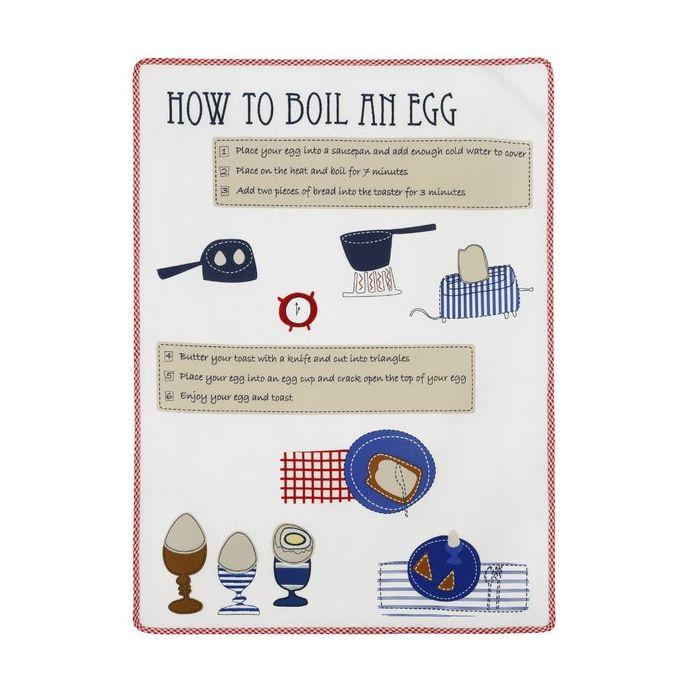 paño de cocina how to boil an egg