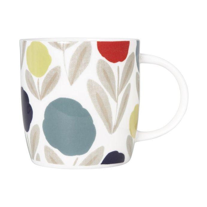 taza mug serena de porcelana