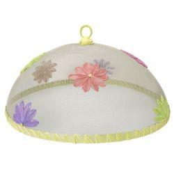 cobertor para comida diseño floral