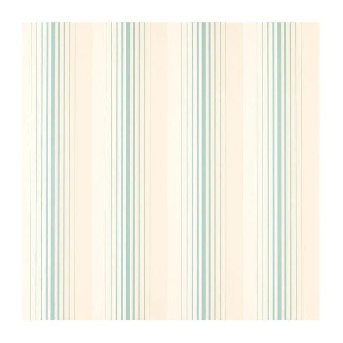 papel pintado draper stripe azul verdoso