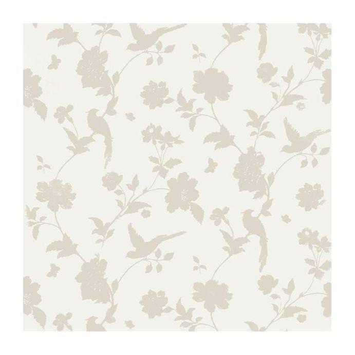 Comprar papel pintado farleigh natural de dise o laura - Laura ashley papel pintado ...