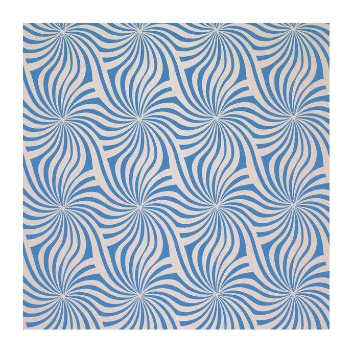 papel pintado curzon azul zafiro