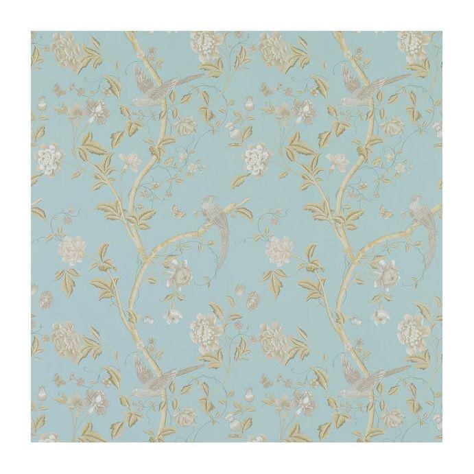 papel pintado summer palace azul empolvado