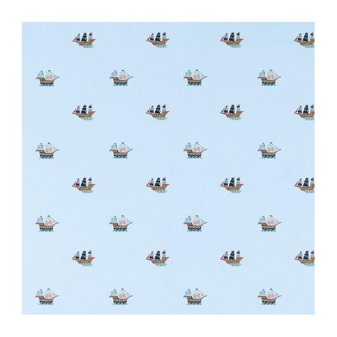 papel pintado barco pirata
