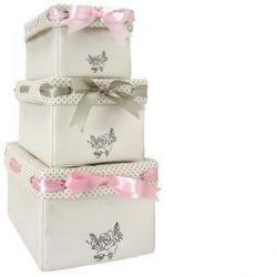 juego de 3 cajas multiusos lovely today