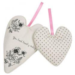 juego de dos corazones perfumados lovely today