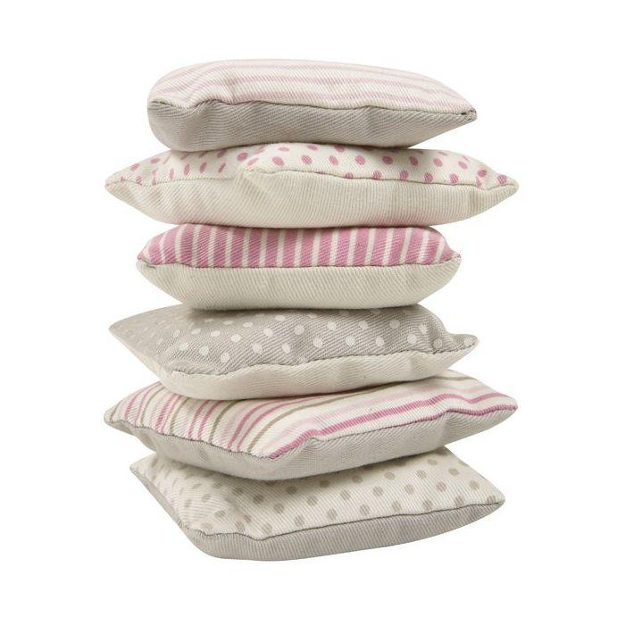 juego de seis almohadas perfumadas