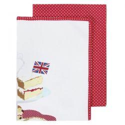 pack de 2 paños de cocina Celebrate Britain