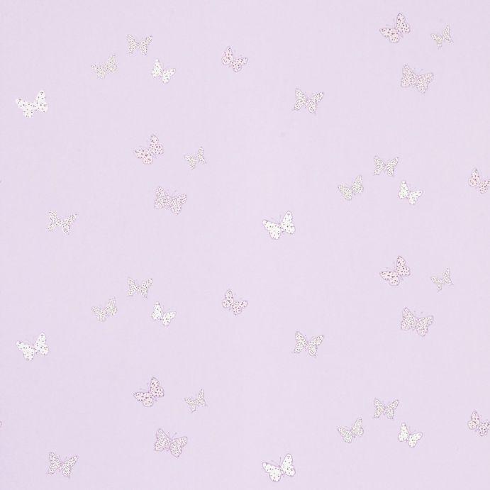 papel pintado pintado bella butterfly lila