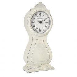 reloj de sobremesa crema mora