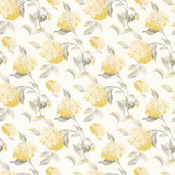 papel pintado hydrangea camomila