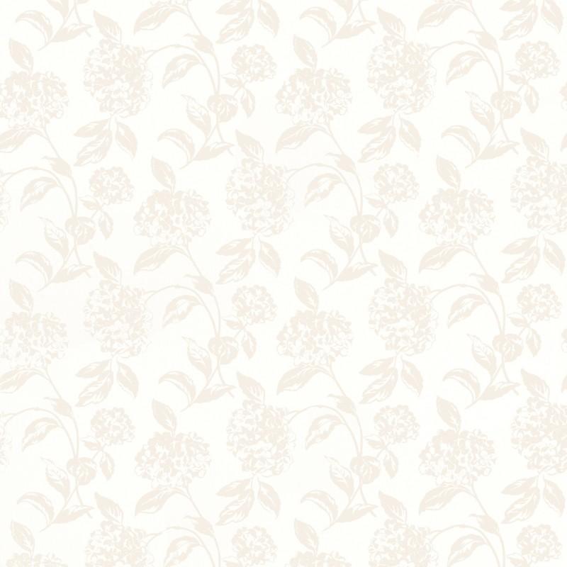 Comprar papel pintado hesta blanco de dise o laura for Papel pintado blanco