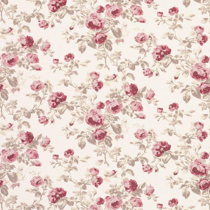 tejido roses cassis