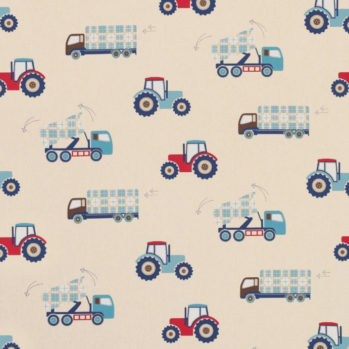 tejido estampado trucks and tractors