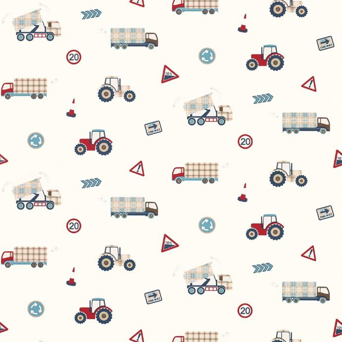 papel pintado pintado trucks and tractors