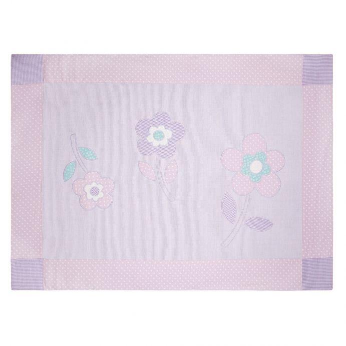 alfombra infantil flower appliqué