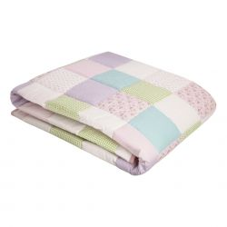 colcha patchwork clementine