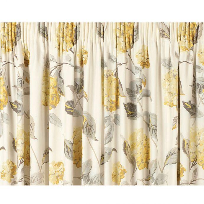 cortinas confeccionadas hydrangea camomila