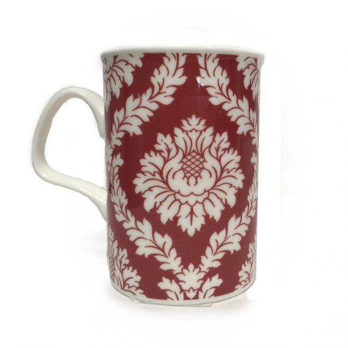 taza mug Vittorio rojo