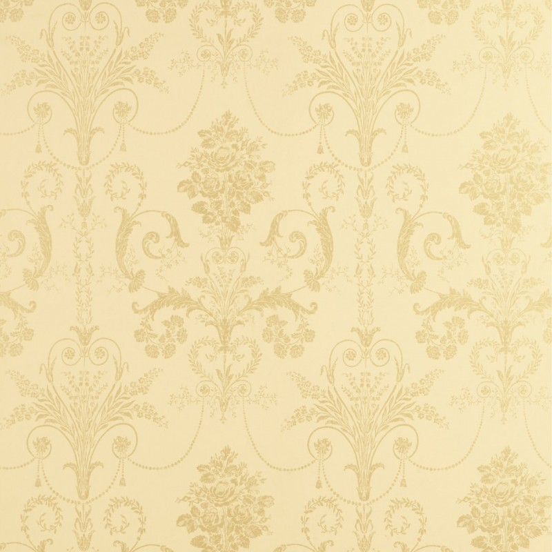 Comprar papel pintado josette dorado de dise o laura - Laura ashley papel pintado ...