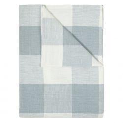 mantel textil whitby check azul mar