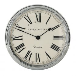 reloj de pared cromado gallery