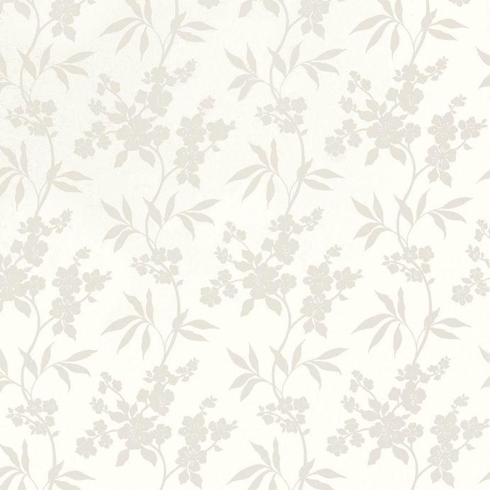 Comprar papel pintado thalia blanco de dise o laura - Papel pintado laura ashley ...