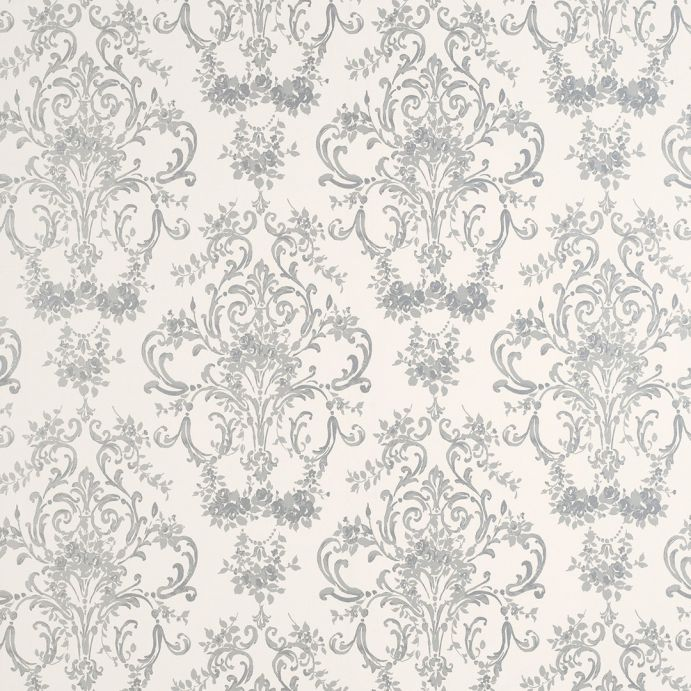 papel pintado aston plata