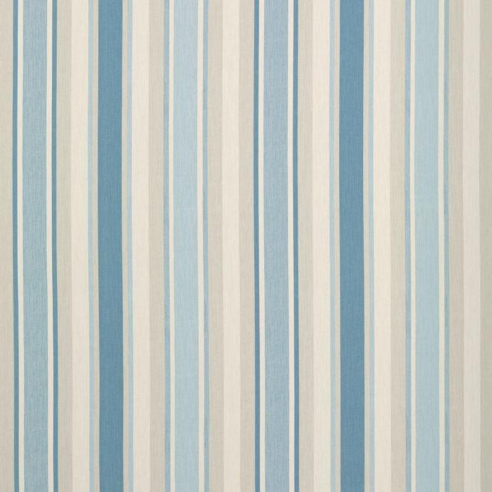 tejido awning stripe azul mar