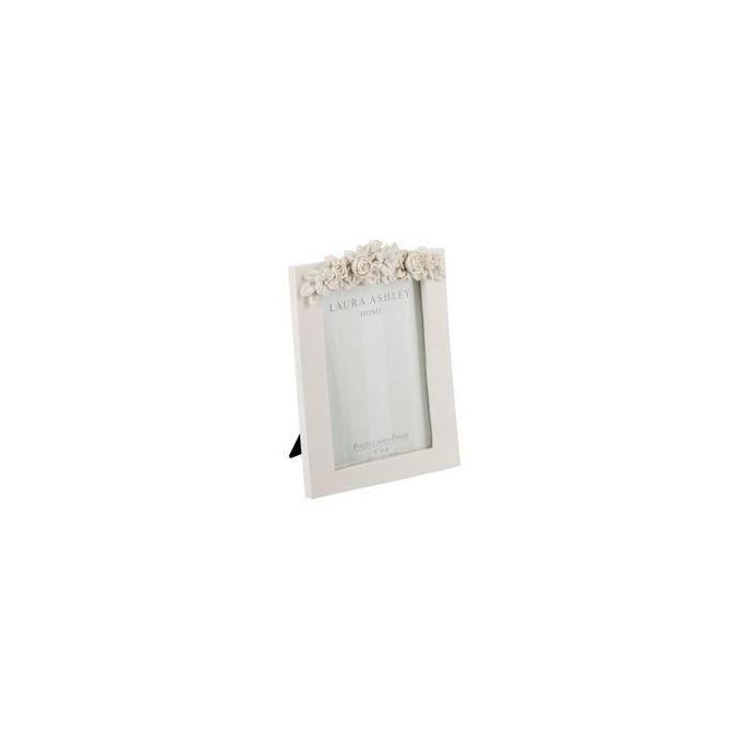 marco floral crema