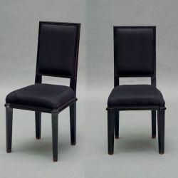 pareja de sillas de comedor henshaw negro