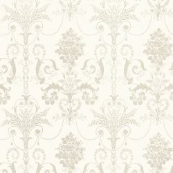 papel pintado josette blanco