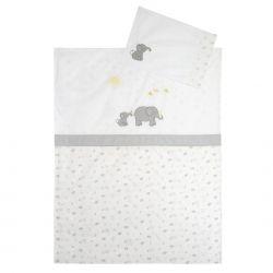 funda nórdica para cuna Baby Elephants