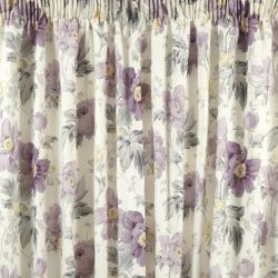 cortinas peony garden amatista