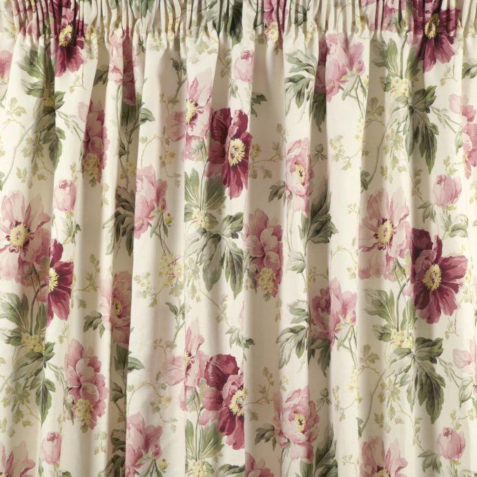 cortinas peony garden arándano