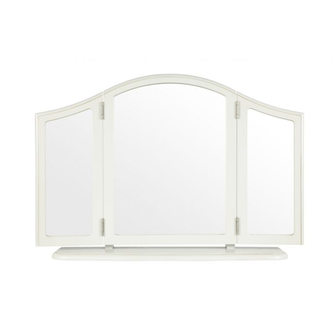 triple espejo de sobremesa clifton gris claro