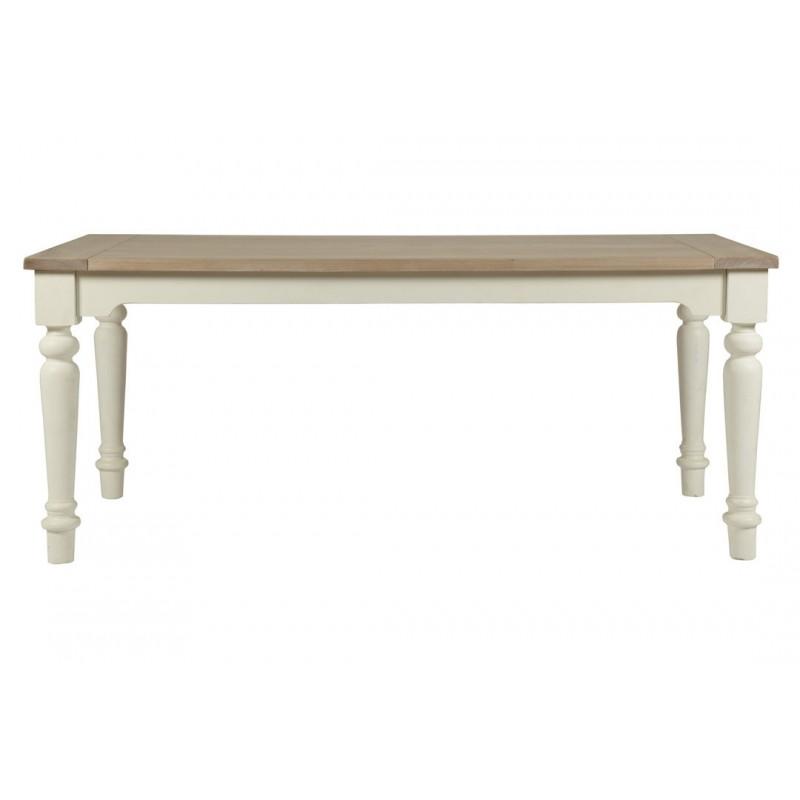 Mesa de comedor Dorset blanco